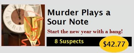 How to Host a New Year's Eve Murder Mystery Party Kit