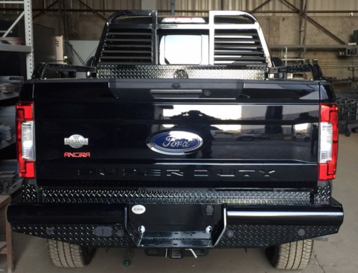1992-2018 Ford Super Duty Rear Replacement Bumpers