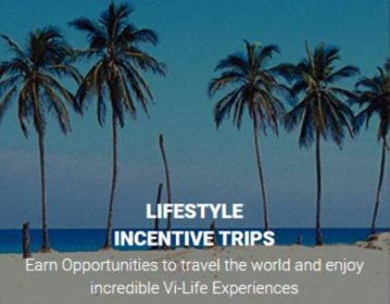 Sell Body By Vi and earn oppourtunities to travel the world and enjoy incredible Vi Life Experiences with Lifestyle Incentive Trips