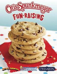 Otis Spunkmeyer Fun Raising Fundraiser Brochure