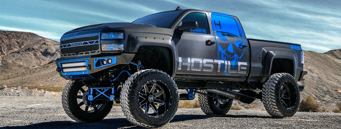 Hostile Truck Wheels Canton Akron Massillon Ohio F150_Superduty wheels Ohio_8 lug wheels ohio_dodge ram wheels ohio_GMC wheels Ohio_Randolph Ohio Lifted Trucks