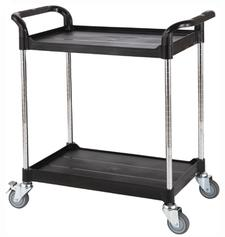 Height-adjustable service cart, adjustable utility carts manufacturer
