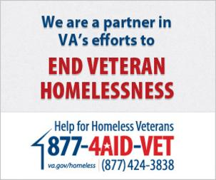 Click here for VA Homeless Veterans Website
