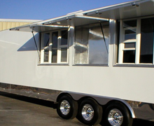46' Mobile Kitchen Trailer for Rent