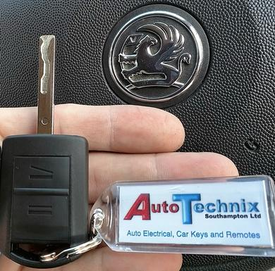Vauxhall Combo and Vauxhall Corsa remote key