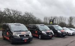 8 Seat taxis Taunton, TLC Taxis Taunton, Taunton Taxi Services.