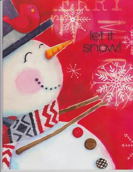 Let It Snow Christmas Fundraiser Catalog
