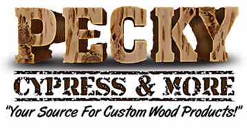 Pecky Cypress & More Logo