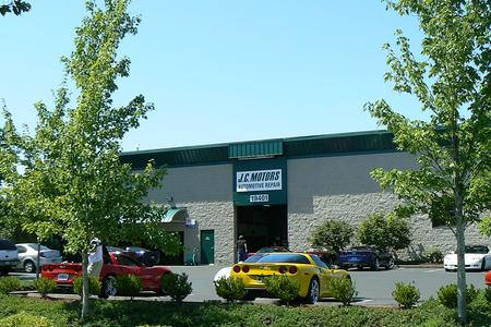 JC Motors auto repair and service store front image Tualatin, Tigard, Sherwood, Lake Oswego, Wilsonville
