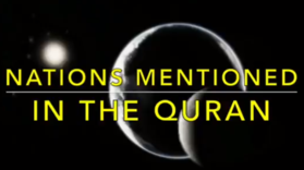 Kids Time - Nations mentioned in Quran