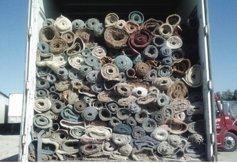 Carpet Recycling Fresno, Tulare, Kings Counties