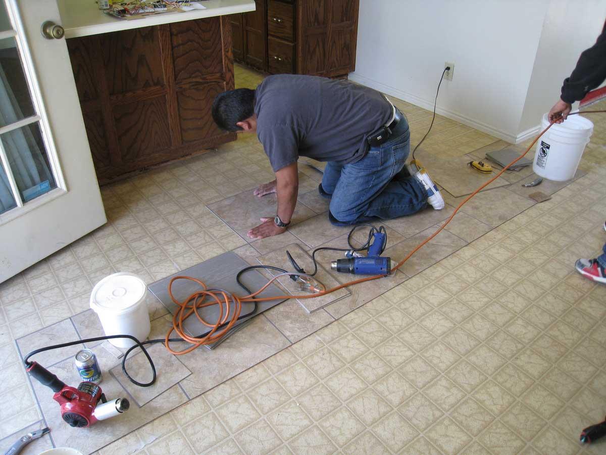 Trimix Flooring Services : Vinyl flooring service thefloors