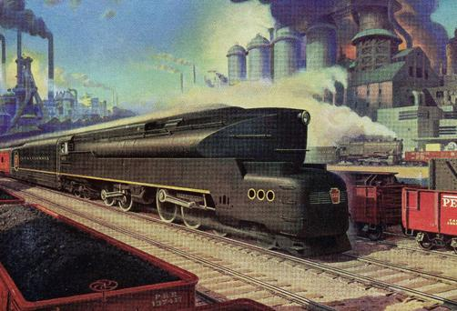 The Pennsylvania Railroad's mighty T1 was in a class of its own.