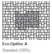 Eco-Optiloc Permeable Paver Patterns