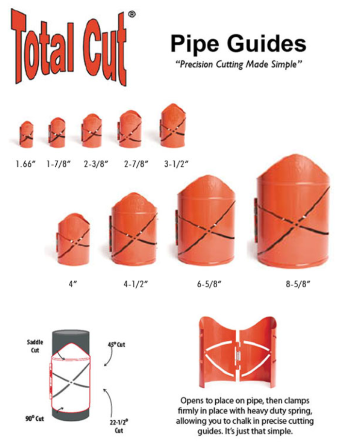 Total Cut Pipe Guides