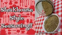 Steakhouse Style Seasoning blend recipe, Noreen's Kitchen