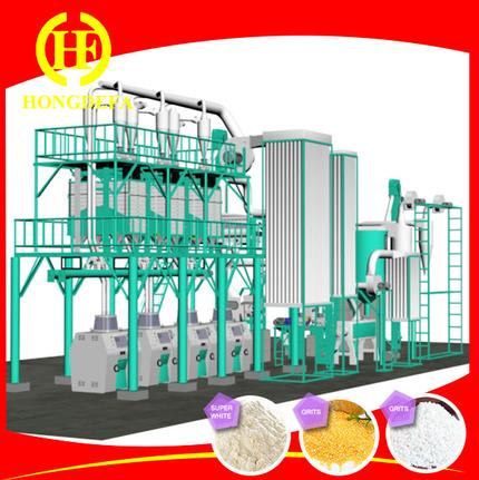 pictures of 50 ton corn flour milling equipments