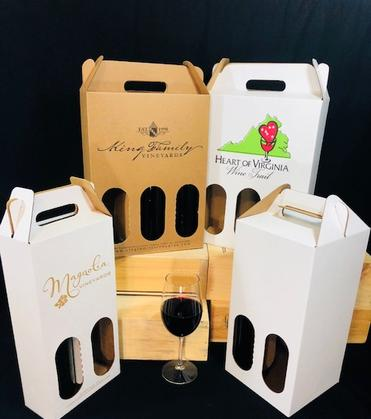 Custom Bottle Carriers