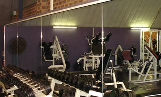 A gym with our mirrors in Cherry Hill, NJ