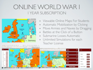 World War One Simulation Online