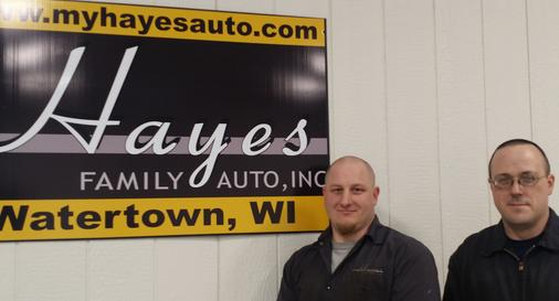 Hayes Auto Watertown Wi >> Service And Repair Hayes Family Auto Inc Watertown Wi