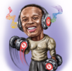 Caricature of Dr. Dre