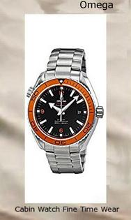 Omega Planet Ocean Black Dial Stainless Steel Mens Watch 232.30.46.21.01.002