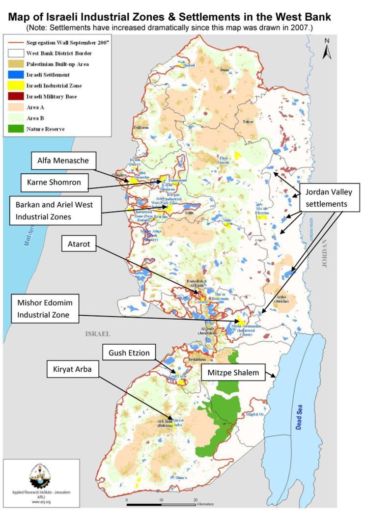 Boycott the Israeli Settlements