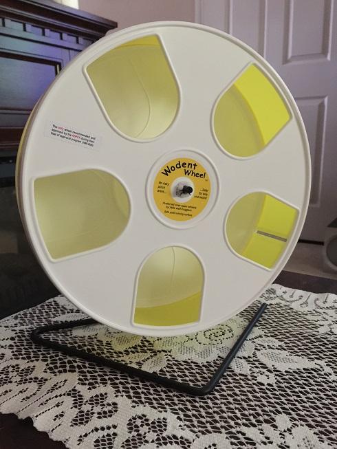 Wodent Wheel In White/Lemon · Nail Trimmer Exercise Wodent Wheel · Nail Trimmer Track For Sugar Gliders