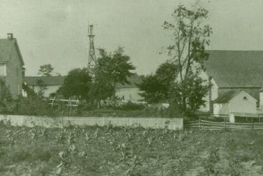 The farm and house in 1910