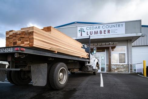 Cedar Country Lumber provides specialty building materials to customers nationwide