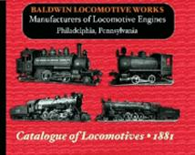 Baldwin Locomotive Works Illustrated Catalog