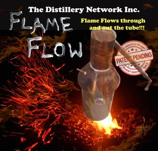flame flow copper moonshine still