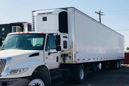 2007 UTILITY REEFER TRAILER CARRIER UNIT AND RYPO FILTER