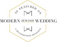 modern jewish bride featured wedding photographer