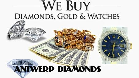 We Buy Gold & Rolex Watches - Antwerp Diamonds and Jewelry of Roswell Georgia