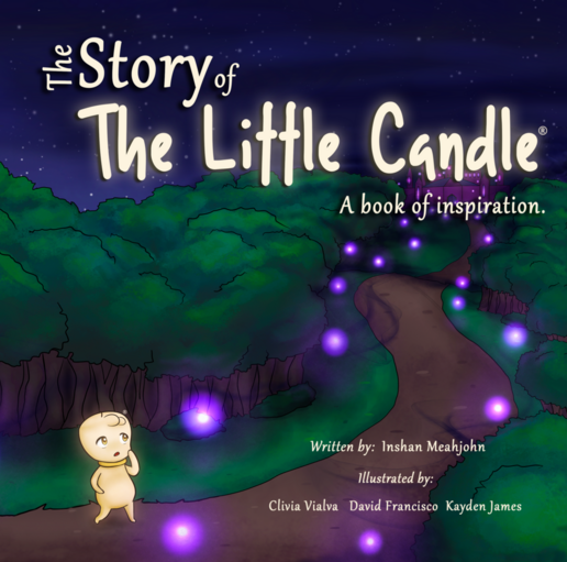 The Story of the Little Candle, A Book of Inspiration