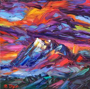 The Natural Accents Gallery of Taos Features Greg Dye - Accomplished Oils Artist