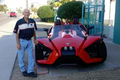 Renting a Slingshot only takes a regular drivers license