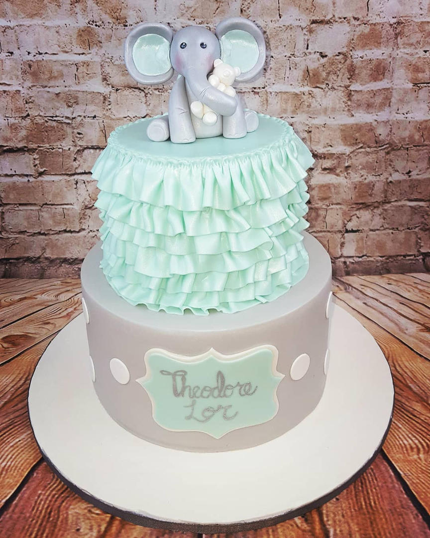 Baby Showers Cakes For A Boy