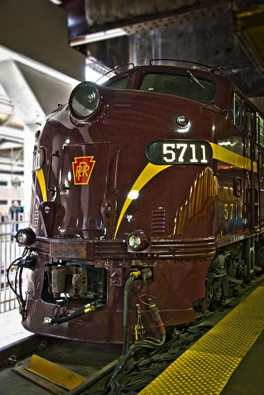 PRR 5711 at Chicago Union Station for National Train Day, 2011.