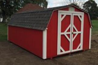 Clinton Custom Sheds storage building