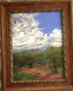 Lindy C Severns Fine Art Custom framing by Midland Framing and Fine Arts Midland TX