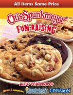 Otis Spunkmeyer Fun Raising Cookie Dough Brochure