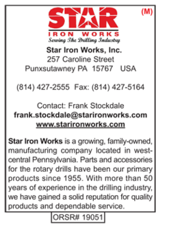 Drilling Supplies, Star Iron Works Inc.