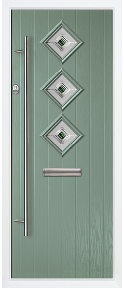 new product 08f81 33843 Trade Windows 4U - 3 Diamond Composite Door