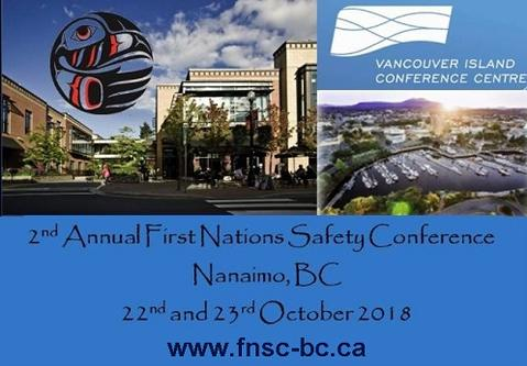 First Nations Safety Conference, October 22, 2018