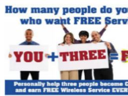 U+3= Free Referrals