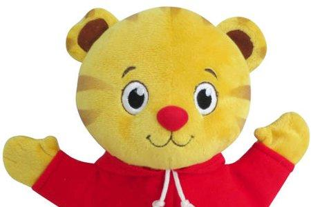 Daniel Tiger puppet for Meet And Greet at children's parties and for ‎kids Birthday party