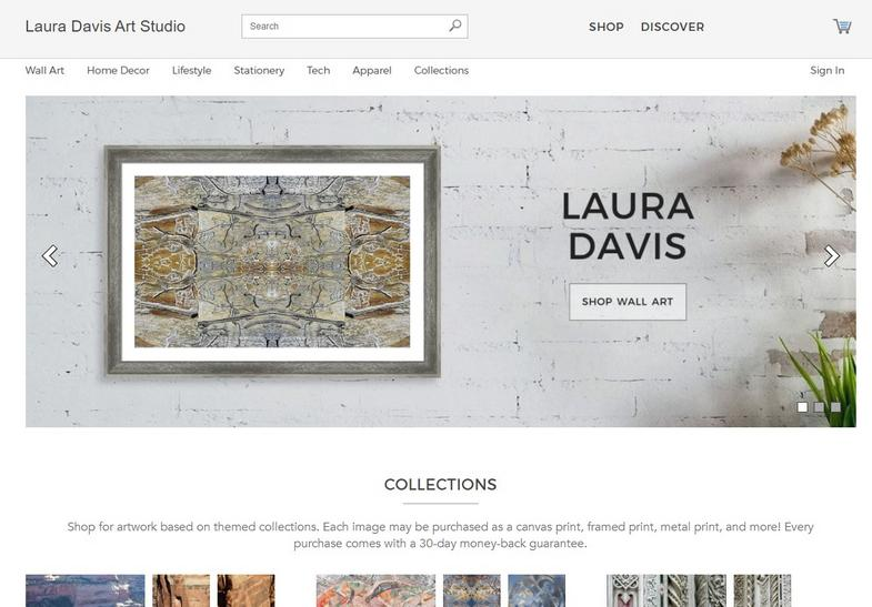Laura Davis Art Studio on Pixels.com